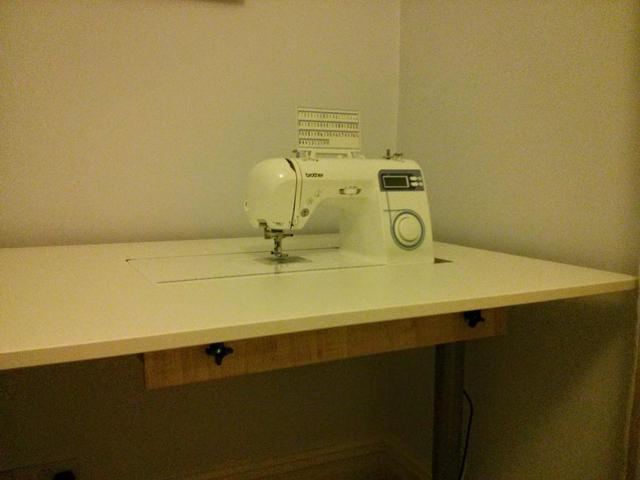 Sewing table done
